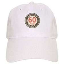 60th Birthday Vintage Baseball Cap