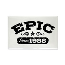 Epic Since 1988 Rectangle Magnet