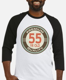 55th Birthday Vintage Baseball Jersey