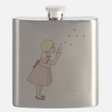 Blowing Dandelion Flask