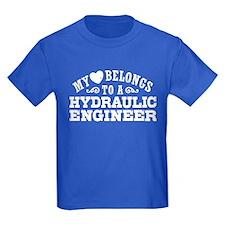 My Heart Belongs To A Hydraulic Engineer T