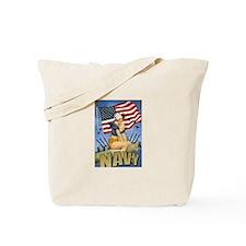 5 Military Pin Ups Tote Bag