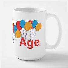 CUSTOMIZE NAME and AGE Birthday Ceramic Mugs