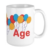 45th birthday women Large Mugs (15 oz)