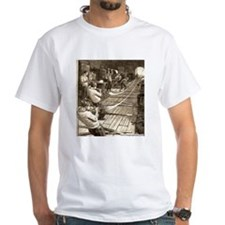 Blowing Glass Tubes T-Shirt