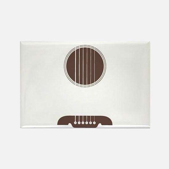 Guitar Strings Rectangle Magnet