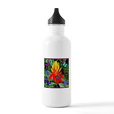 Hawaiian Torch Heliconia & Butterflies Sports Water Bottle