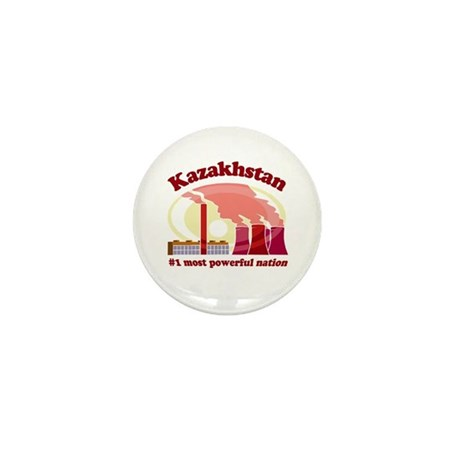 Kazakhstan Power - Mini Button