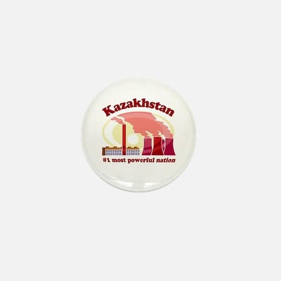 Kazakhstan Power - Mini Button