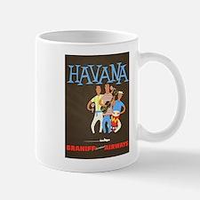Havana, Cuba, Travel, Vintage Poster Mug