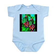 Mystic Hawaiian Banana Flower Infant Bodysuit