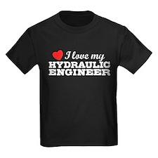 I Love My Hydraulic Engineer T