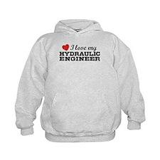 I Love My Hydraulic Engineer Hoodie