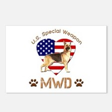 U.S. Special Weapon MWD Postcards (Package of 8)