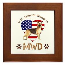 U.S. Special Weapon MWD Framed Tile
