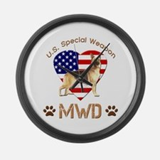 U.S. Special Weapon MWD Large Wall Clock