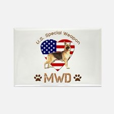 U.S. Special Weapon MWD Rectangle Magnet