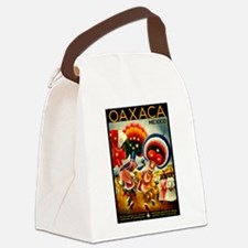 Vintage Oaxaca Mexico Travel Canvas Lunch Bag