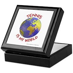 Tennis is my World Keepsake Box