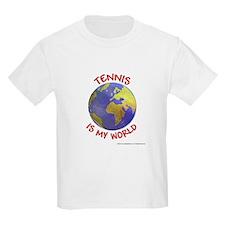Tennis is my World Kids T-Shirt