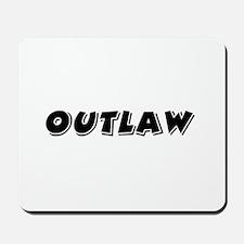Outlaw Band Mousepad