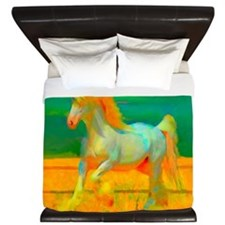 Gentle Giant (Horse) King Duvet