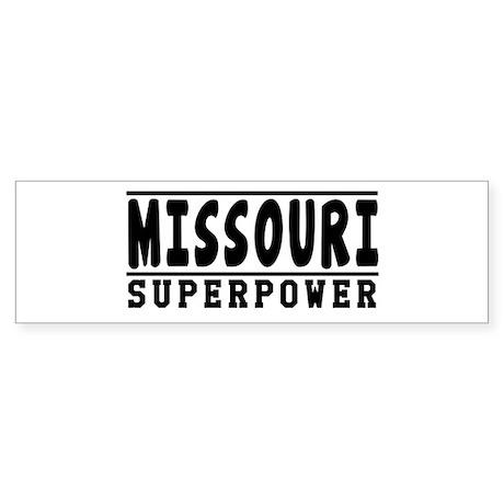 Missouri Superpower Designs Sticker (Bumper)
