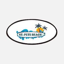 St. Pete Beach - Surf Design. Patches