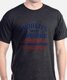 World's Most Awesome Teacher's Assistant T-Shirt