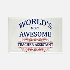 World's Most Awesome Teacher's Assistant Rectangle
