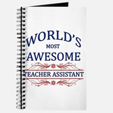 World's Most Awesome Teacher's Assistant Journal
