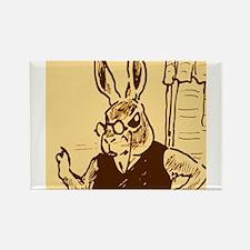 papa rabbit Rectangle Magnet