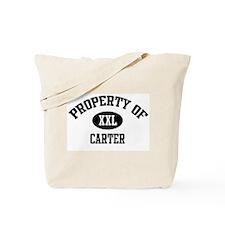 Property of Carter Tote Bag