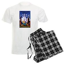 Chicago Worlds Fair 1934 Pajamas