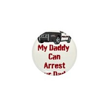 Police Officer Daddy Mini Button (10 pack)