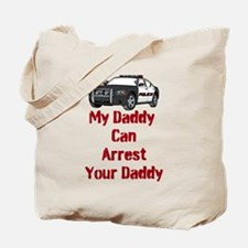 Police Officer Daddy Tote Bag