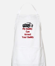 Police Officer Daddy Apron