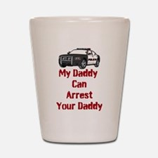 Police Officer Daddy Shot Glass