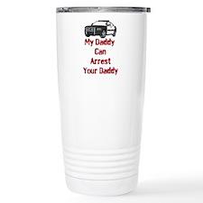 Police Officer Daddy Travel Mug