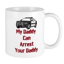 Police Officer Daddy Small Mug