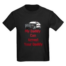 Police Officer Daddy T-Shirt