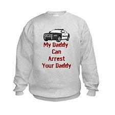 Police Officer Daddy Sweatshirt