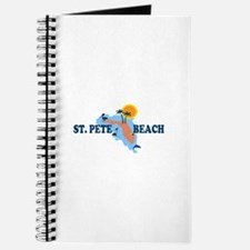 St. Pete Beach - Map Design. Journal