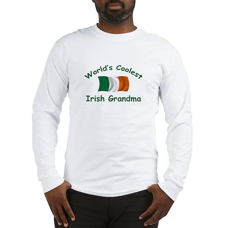 Coolest Irish Grandma Long Sleeve T-Shirt