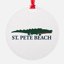 St. Pete Beach - Alligator Design. Ornament
