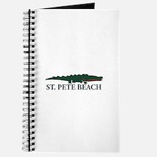 St. Pete Beach - Alligator Design. Journal