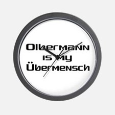Olbermann is my Ubermensch Wall Clock