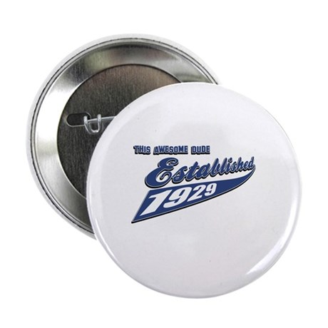 """Established in 1929 2.25"""" Button (10 pack)"""