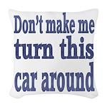 This Car Woven Throw Pillow