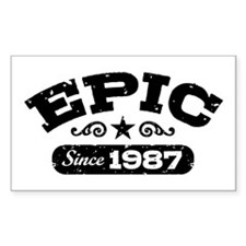 Epic Since 1987 Decal